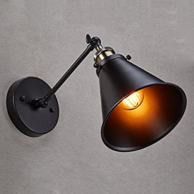 Ecopower Vintage Style Simplicity Orb Color Wall Swing Arm Lamp