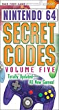 Nintendo 64 Secret Codes, Volume 5 (Brady Games) (0744000688) by BradyGames