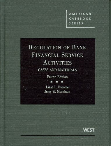 Regulation of Bank Financial Service Activities: Cases...