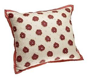 Pink Beaded Decorative Pillow : Amazon.com - DKNY PLAY Beaded Floral Decorative Pillow, Pink - Throw Pillows