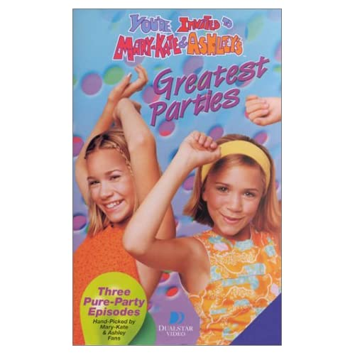Mary-Kate & Ashley's Greatest Parties [VHS]: Mary-Kate Olsen & Ashley
