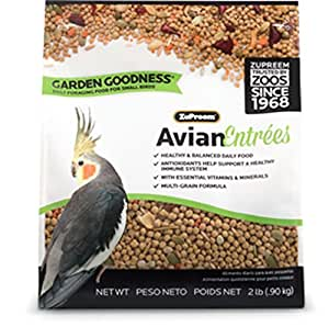 Zupreem 230100 garden goodness small bird for Does petco sell fish