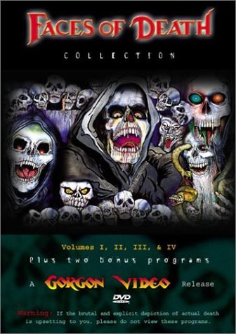 Faces of Death Collection (Vols. 1-4)