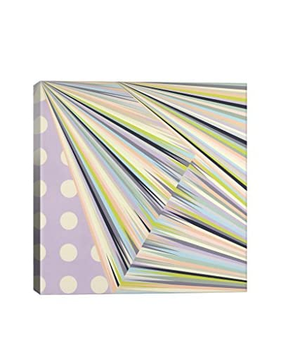 Richard Blanco Gallery Linear Structure Wrapped Canvas Print