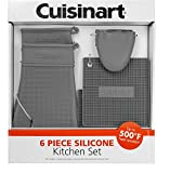 Cuisinart 6-Piece Silicone Kitchen Set - Grey