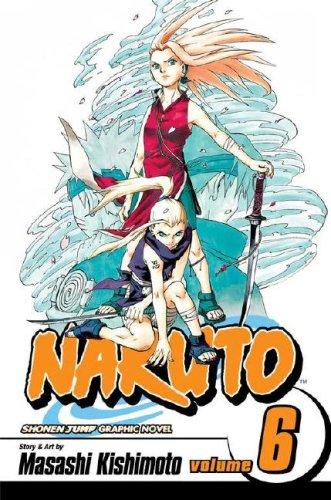 NARUTO -ナルト- コミック6巻 (英語版)