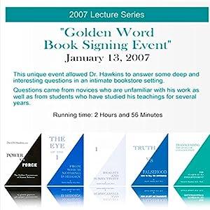 Golden Word Book Signing Speech
