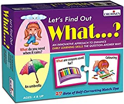 Creative's Let's Find Out What, Multi Color
