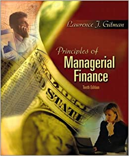 principles of managerial finance Principles of managerial finance solution lawrence j gitman find out more at wwwkawsarbd1weeblycom 47 last saved and edited by mdkawsar siddiqui chapter 3 cash flow and financial planning.