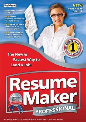 Resumemaker Professional Deluxe 16 [Download]