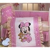 Disney Baby Minnie Complete Crib Bedding Set