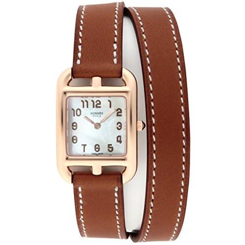 [エルメス]HERMES 腕時計 ケープコッド ホワイトパール文字盤 K18PG無垢ケース CC1.270.218.VBA1 レディース 【並行輸入品】