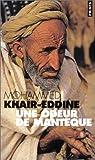 Une odeur de mant�que par Khair-Eddine