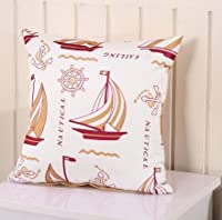 Yecz 18''X 18'' Cotton Linen Decorative Throw Pillow Cover Cushion Case by buoluo