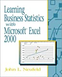 img - for Learning Business Statistics with Microsoft Excel 2000 book / textbook / text book