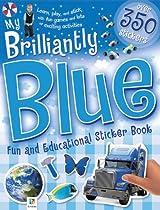My Brilliantly Blue Sticker Book
