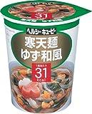 ヘルシーキユーピー 寒天麺 ゆず和風 31kcal (3入り)