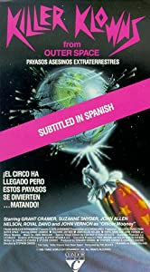 Killer Klowns from Outer Space [VHS]