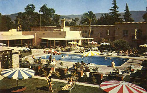 The Oaks Hotel And Cottages Ojai, California Original Vintage Postcard (Ojai Hotels compare prices)