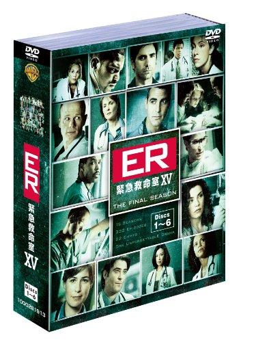 ER緊急救命室〈ファイナル・シーズン〉セット1 [DVD]