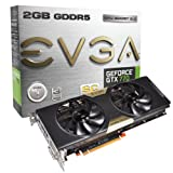 EVGA Nvidia GeForce GTX 770 Superclocked 2GB GDDR5 Graphics Card (PCI Express 3.0, HDMI, DVI-I, DVI-D, Display Port, 256-bit, NVIDIA 3D Vision-Ready)