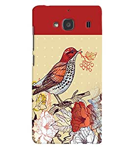 PRINTVISA Bird Case Cover for Xiaomi Redmi 2S