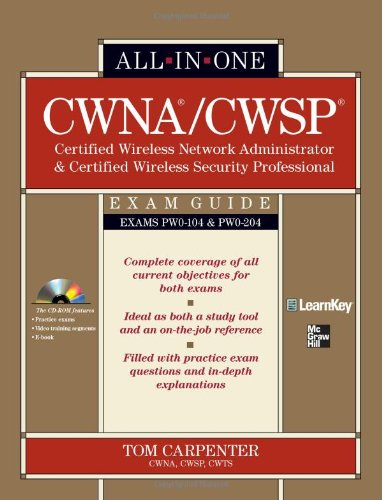 CWNA Certified Wireless Network Administrator & CWSP...