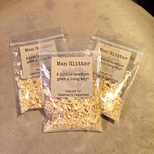 Gag Gifts For Christmas Party: Man Glitter, Stocking Stuffer, Sawdust Is Man Glitter
