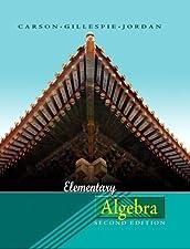 Elementary Algebra by Tom Carson