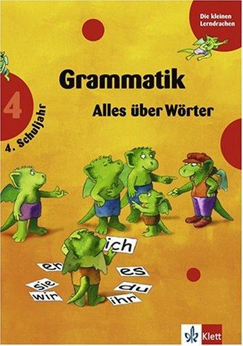 Training Grammatik. 4. Schuljahr. Alles über Wörter. Übungsbücher für Grundschüler. (Lernmaterialien)