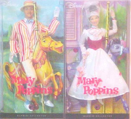 Barbie Collector Mary Poppins with Bert Doll Set (2 Dolls) - Buy Barbie Collector Mary Poppins with Bert Doll Set (2 Dolls) - Purchase Barbie Collector Mary Poppins with Bert Doll Set (2 Dolls) (Mary Poppins, Toys & Games,Categories,Dolls,Fashion Dolls)