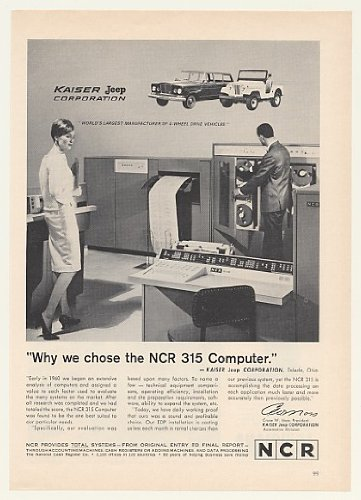 1964-kaiser-jeep-ncr-315-computer-system-original-print-ad-43421