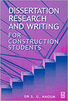 Wiley: Writing a Built Environment Dissertation: Practical Guidance