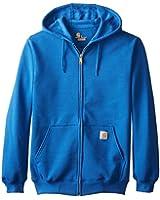 Carhartt Men's  Midweight Sweatshirt Hooded Zip Front Original Fit