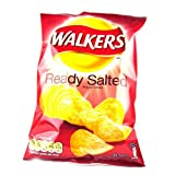 Walkers Crisps Ready Salted x 48 1560g