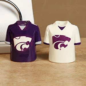 Buy NCAA Kansas State Wildcats Gameday Ceramic Salt & Pepper Shakers by Football Fanatics