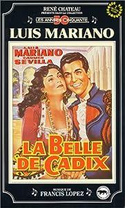 Coffret luis mariano : la belle de cadix ; andalousie [VHS]