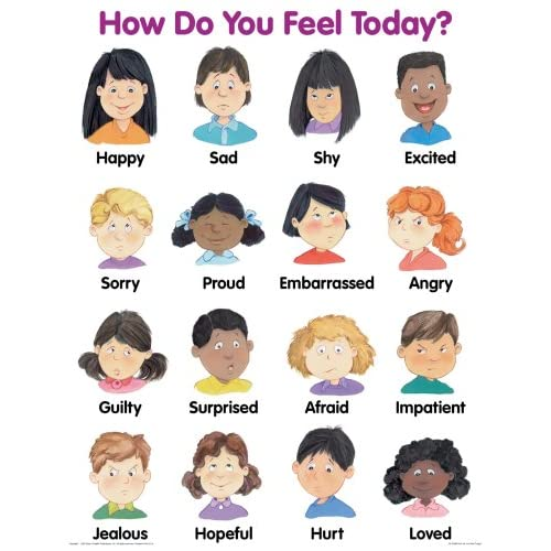 How Do You Feel Today? Cheap Chart: School Specialty Publishing
