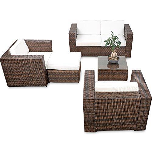 erweiterbares-15tlg-XXXL-Polyrattan-Lounge-Sofa-Set-kaufen-braun-mix-Sitzgruppe-Garnitur-Gartenmbel-Lounge-Mbel-Set-inkl-Lounge-Sofa-Sessel-Hocker-Tisch-Kissen