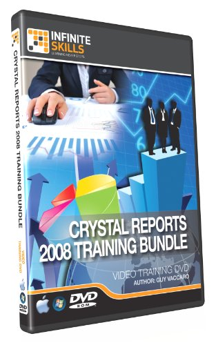 Crystal Reports 2008 Training DVD - Discounted Bundle