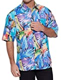 Look extremely enticing at your next vacation on the beach wearing our vivid styled cotton printed shirts.Made from cotton, this half sleeve shirt features over all printed pattern with a front pocket. Team up this beach shirt with your favou...