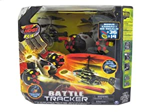 Air Hogs - Battle Tracker with Yellow Disc Firing Helicopter