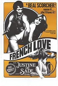 French Love Movie Poster (11 x 17 Inches - 28cm x 44cm) (1975) Style A -(Rod Cameron)(E. John Ferron)(Jacques Fugie)(Patricia Hermenier)(Evelyne Lamour)(Eva Saint)