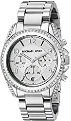 Michael Kors Women's Blair Silver-Tone Watch MK5165