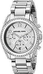 Michael Kors Watches Ladies Silver Blair Watch