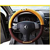 Rilakkuma Lovely Bear Auto Car Steering Wheel Cover Protector Holder