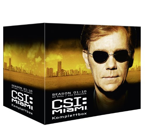 CSI: Miami - Komplettbox (exklusiv bei Amazon.de) [60 DVDs]