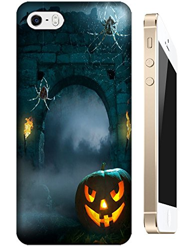 Apple Accessories Helloween Design Special Terrible Picture Pumpkin Cell Phone Cases For Iphone 5/5S No.7