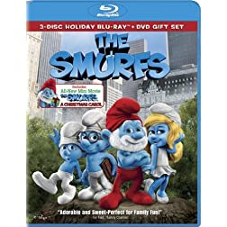 The Smurfs / The Smurfs: Christmas Carol (Three-Disc Combo Blu-ray / DVD + UltraViolet Digital Copy)
