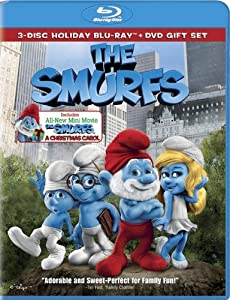 The Smurfs The Smurfs Christmas Carol Three-disc Combo Blu-ray Dvd Ultraviolet Digital Copy from Columbia Pictures